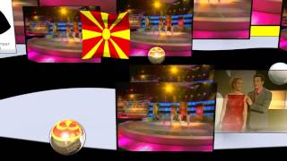 100 % Te Ljubam - XXL - stereo video mix - Macedonia Eurovision Song Contest 2000