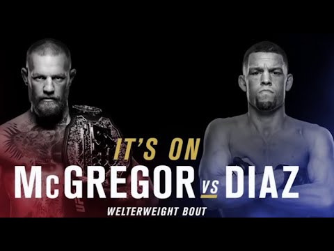 Conor McGregor vs. Nate Diaz 2 official for UFC 202