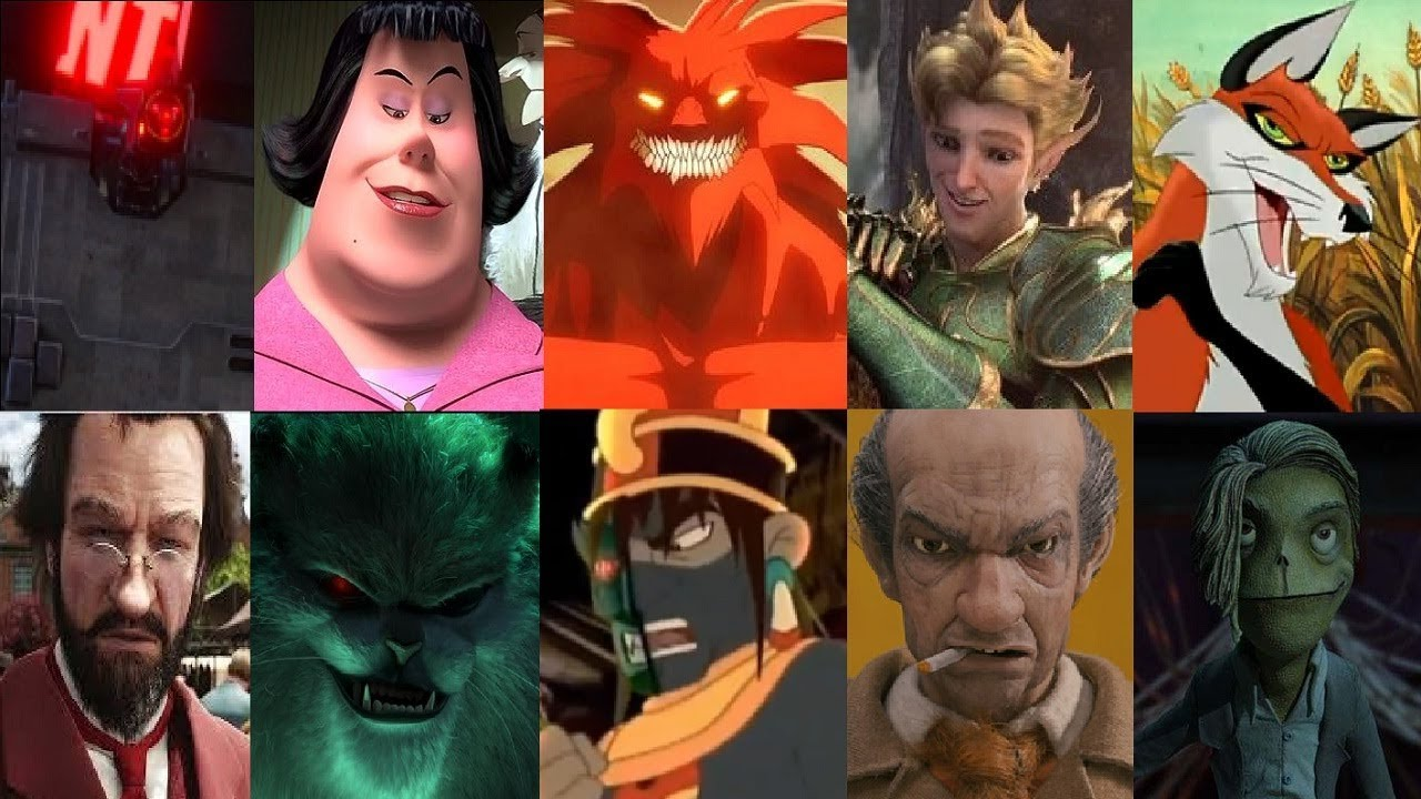 Defeats Of My Fovorito Animated Non Disney Movie Villains Part 23