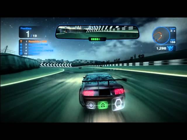 Blur Gameplay (Xbox 360)