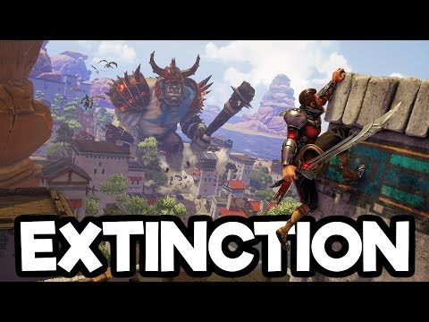 Exctinction Gameplay Impressions - Fighting MASSIVE Giants!