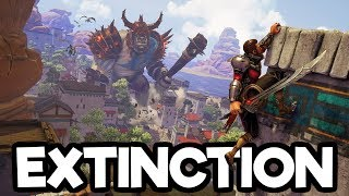 Exctinction Gameplay Impressions - Fighting MASSIVE Giants! (See Description Before You Buy)