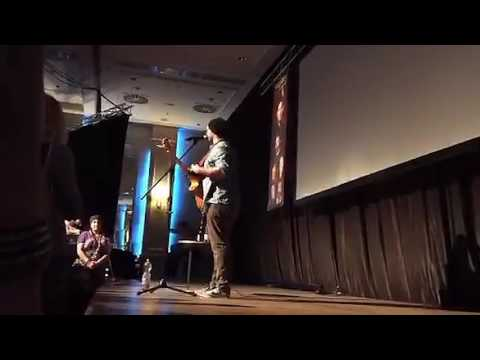 jason manns and tim omundson at #purcon2 periscope