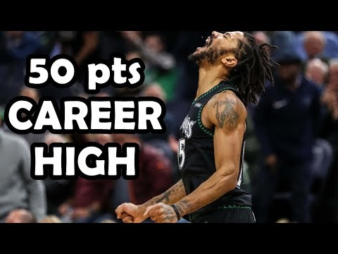 IL RITORNO! DERRICK ROSE 50 Points CAREER HIGH Vs Utah