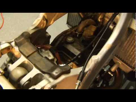 Dirt Bike Throttle Cable Installation  YouTube