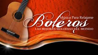 Grandes Boleros Orquestados En Piano y Guitarra Musical Instrumental - Grandes Éxitos Instrumentales