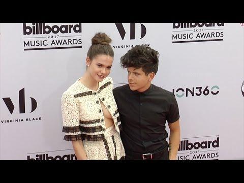 Maia Mitchell and Rudy Mancuso 2017 Billboard Music Awards Magenta Carpet