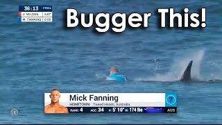 Ozzy Man Commentates Mick Fanning vs Shark