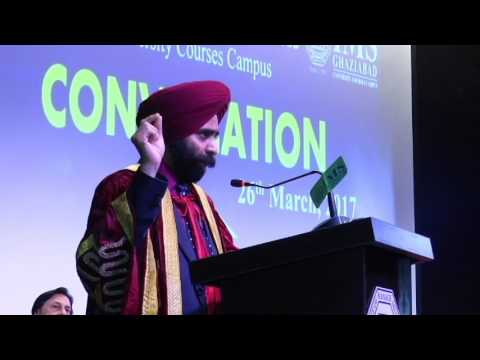 IMS Ghaziabad - University Courses Campus Convocation 2017