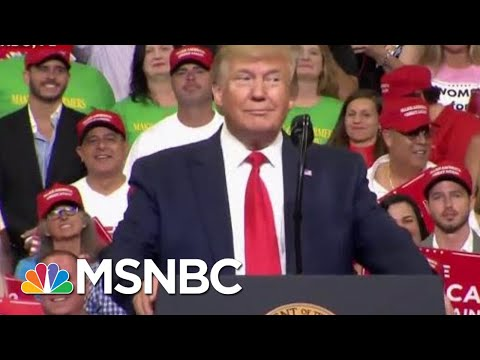 President Donald Trump Launches Reelection Campaign With Digs At Democrats | Velshi & Ruhle | MSNBC