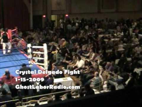 Crystal Delgado 1-15-2009 Fight Part 1