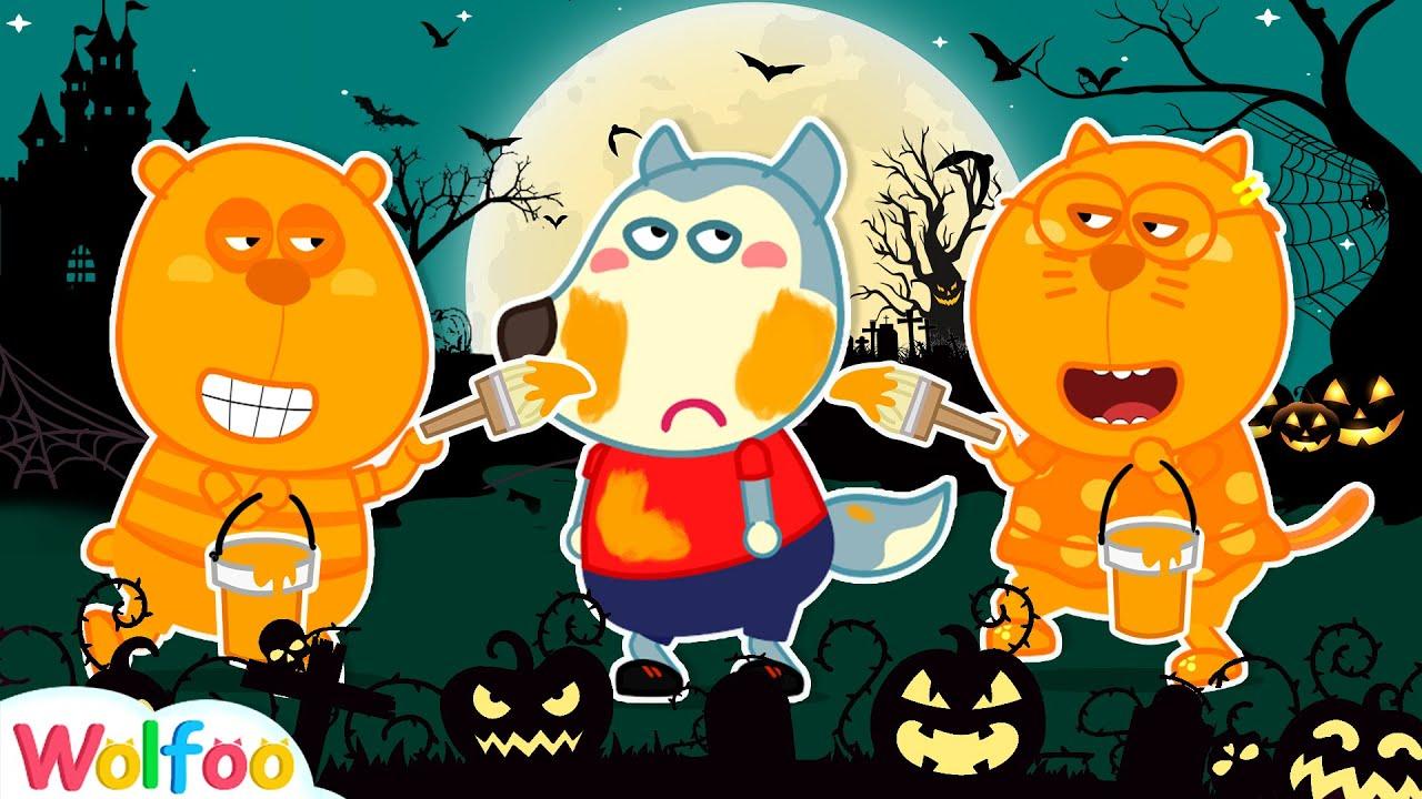 🧛♀️ Wolfoo Dress Up for Halloween Party 🎃 Wolfoo's Halloween 2020 👻 Wolfoo Family Kids Cartoon