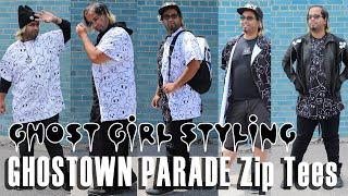 GHOST GiRL Styling: GHOSTOWN PARADE Zip Tees Ver. 2