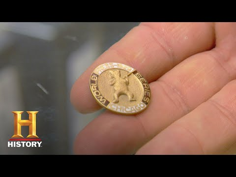 Pawn Stars: 1929 World Series Press Pin (Season 5) | History
