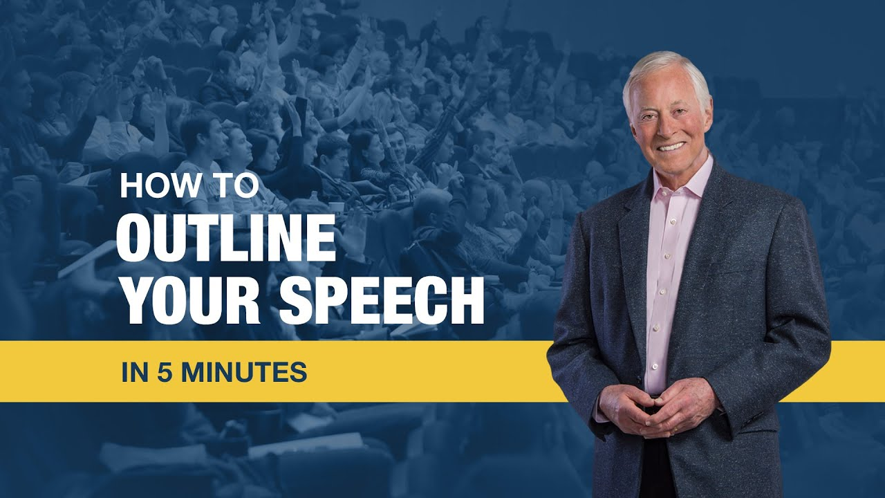 3 to 5 minute speeches