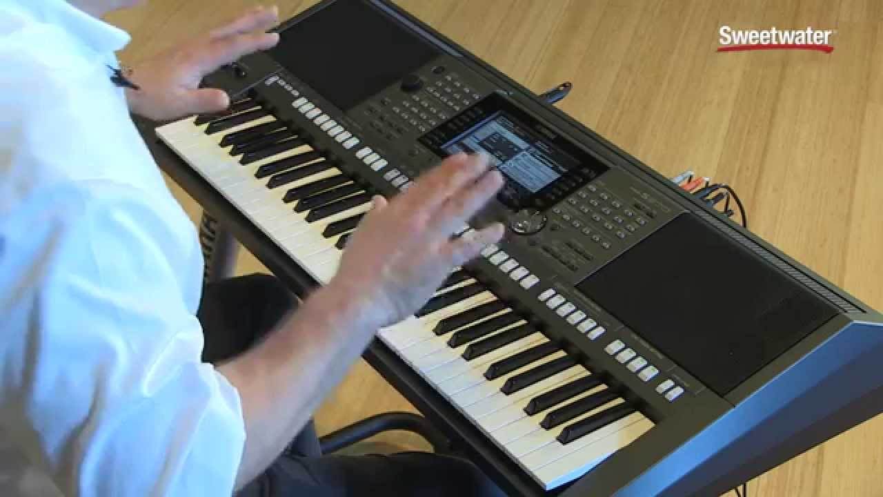 Yamaha psr s970 arranger workstation keyboard demo by s for Yamaha keyboard i425