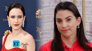 Celebrity Makeup Artist Lisa Aharon Shares How To Get Rachel Brosnahan's Perfect Red Lip thumbnail