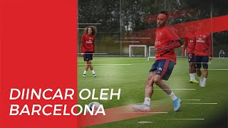 Barcelona Lirik Pemain Arsenal untuk Gantikan Suarez