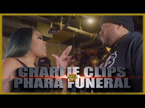 CHARLIE CLIPS VS PHARA FUNERAL RAP BATTLE - RBE