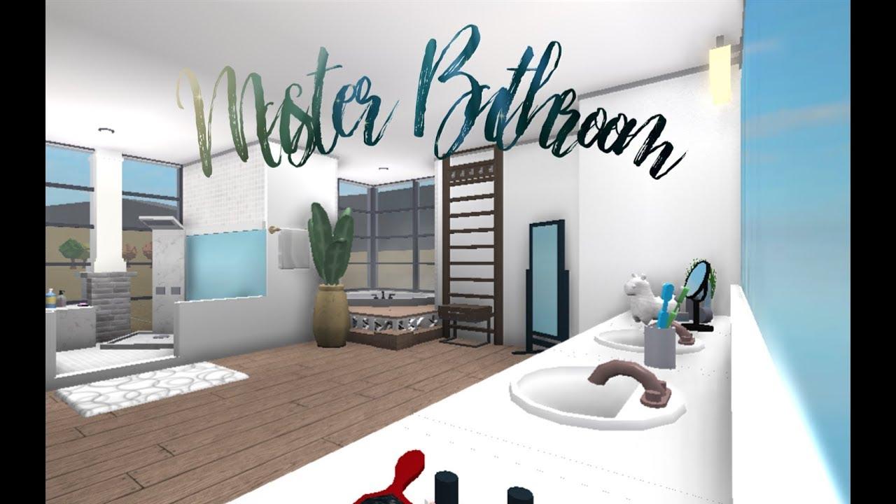 Roblox Bloxburg Master Bathroom Speedbuild