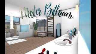 Roblox || Bloxburg: Master Bathroom Speedbuild!