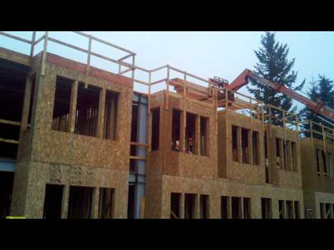 Sandpiper Pacific - Red Leaf Exterior Framing Building 1