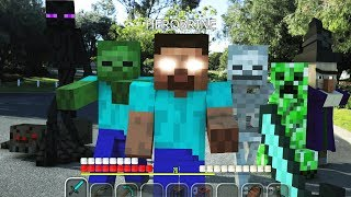 REALISTIC MINECRAFT IN REAL LIFE ~ IRL ANIMATION / The Best Episode Top 5 Minecraft