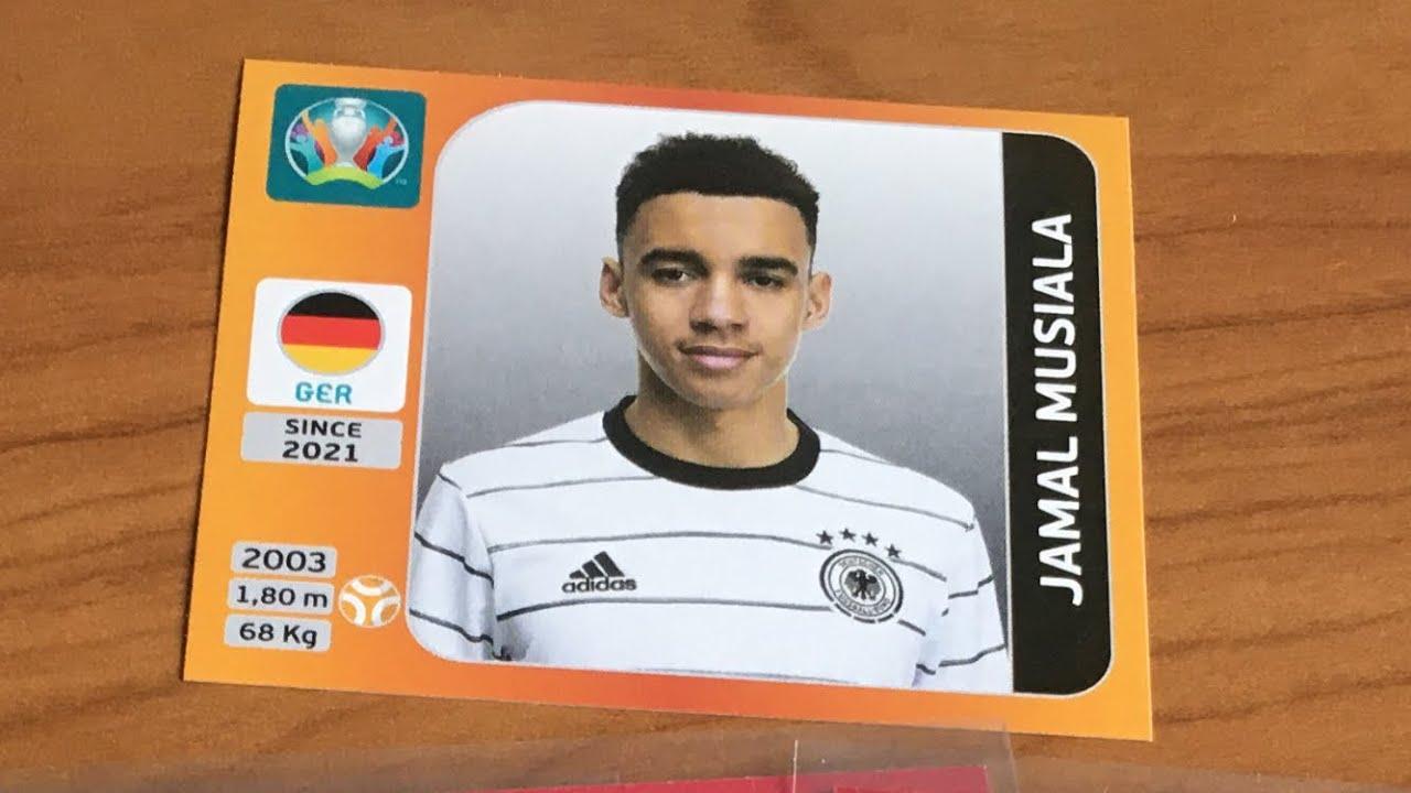 DFB Update Box (Musiala EM Sticker)   Panini EURO 2020 Sticker