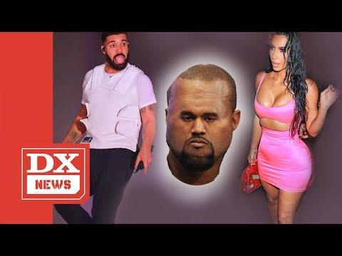 Drake Re-Follows Kim Kardashian On Instagram And Kanye West Flips Out Mp3