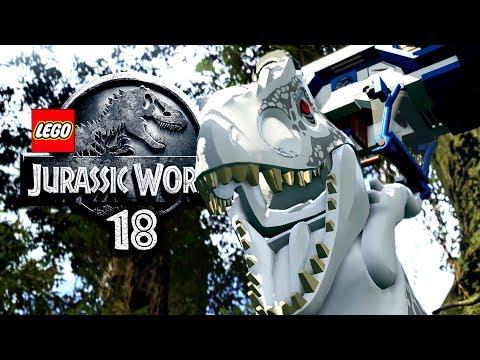 LEGO JURASSIC WORLD - BÖSER weißer RIESE