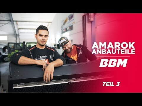 BBM AMAROK ACCESSOIRES | BlackSheep Dachplattform, Lightbar & Unterfahrschutz by BBM