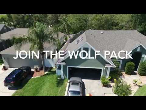 Solar Panel installation video by Lone Wolf Battery and Solar LLC