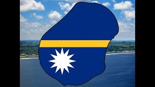 [Flag Mapping Speed Art] Nauru