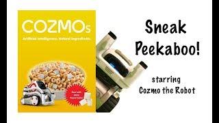 Cozmo stars in Sneak Peekaboo!