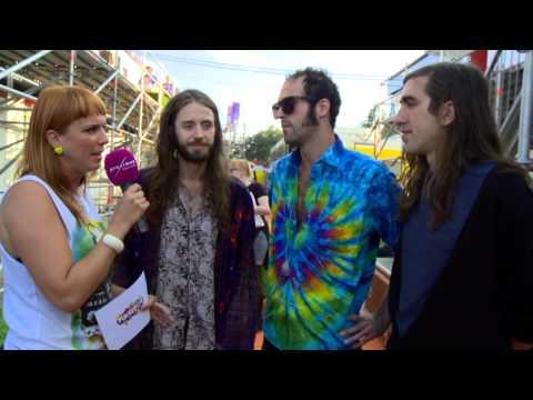 Pukkelpop 2013 Interview Crystal Fighters