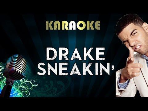 Drake - Sneakin ft. 21 Savage | Official Karaoke Instrumental Lyrics Cover Sing Along