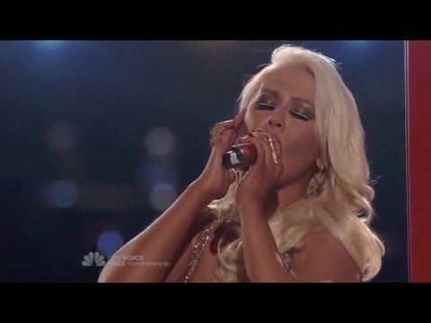 Christina Aguilera - The Prayer (ft Chris Mann)