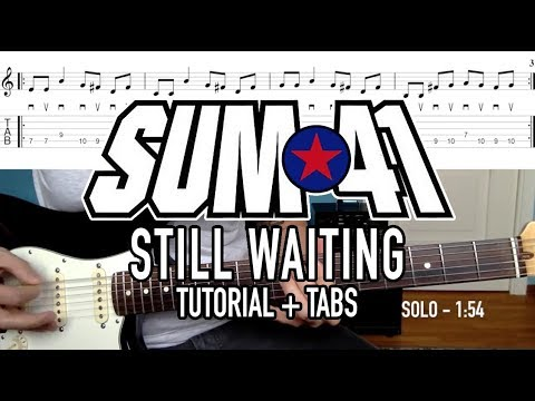 Still Waiting - Sum 41 (Tutorial + Tabs)