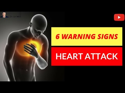 🚑 6 Warning Signs Before You Have A Heart Attack - Potential Life Savers!