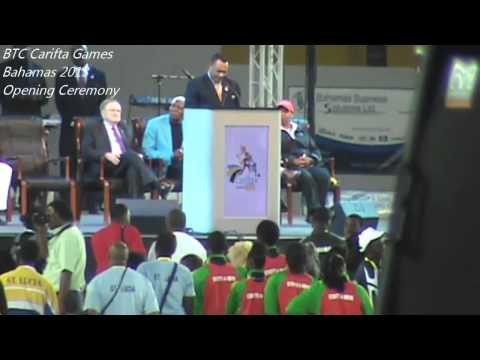 BTC Carifta Games| Bahamas 2013 Opening Ceremonies