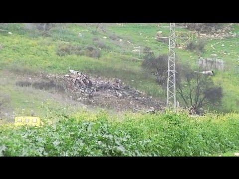 Israeli fighter jet shot down by apparent Syrian fire