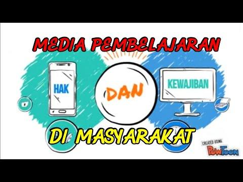 Media Pembelajaran Hak Dan Kewajiban Di Masyarakat Youtube