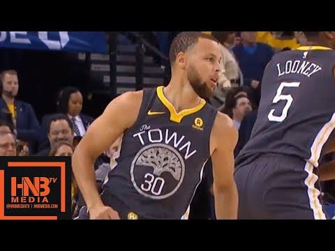 Golden State Warriors vs New Orleans Pelicans 1st Qtr Highlights / Game 2 / 2018 NBA Playoffs