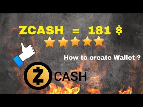 How to create ZCASH ZEC Wallet ? Hindi / Urdu