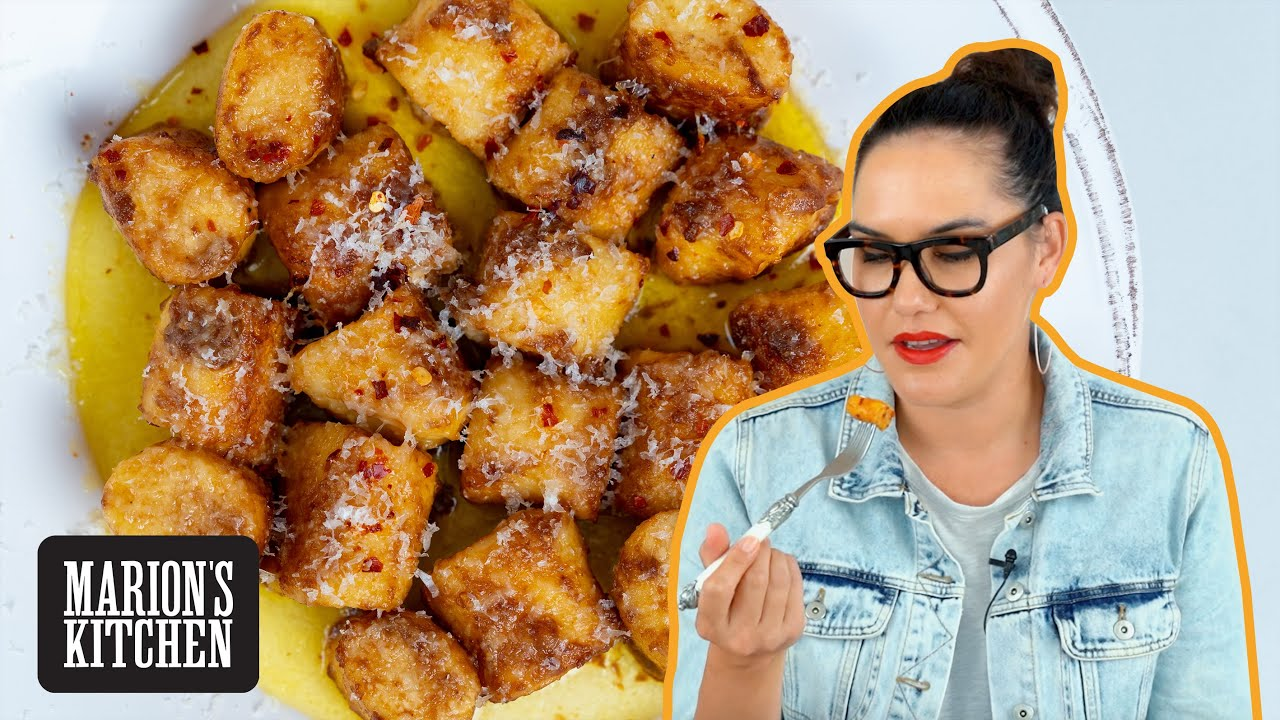ALL the tips for the LIGHTEST Ricotta Gnocchi w Miso Burnt Butter 💯 | Marion's Kitchen