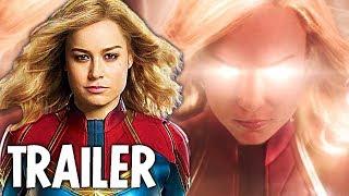 Captain Marvel Trailer Breakdown Avengers 4 Infinity War End Credits