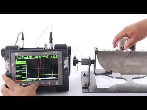 Calibración Ultrasonica De AWS D 1.1
