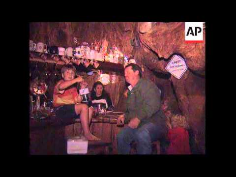 SOUTH AFRICA: FARMER BUILDS BAR IN ANCIENT BAOBAB TREE