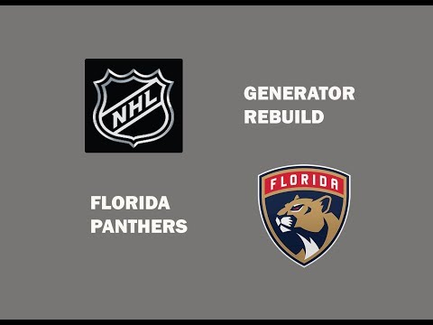 NHL GENERATOR REBUILD FT  FLORIDA PANTHERS