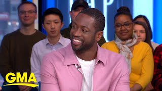 Dwyane Wade wants to follow Kobe Bryant's legacy: 'We are more than just an athlete' l GMA